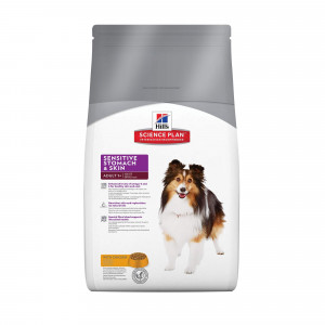 Hill's Adult Sensitive Stomach & Skin Hundefutter