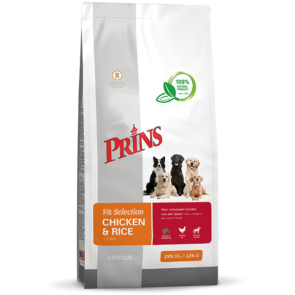 Prins Fit Selection Huhn & Reis Hundefutter