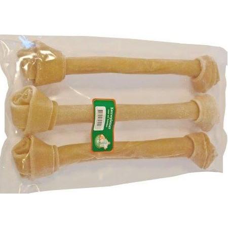 Büffelhautknochen Geknotet für den Hund (38 cm)