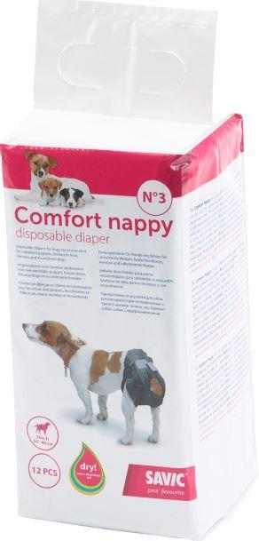 Hundewindel Savic Comfort Nappy 12 Stück