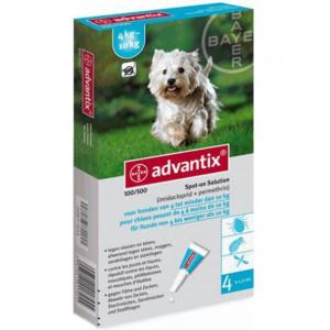 Advantix 100/500 für Hunde von 4 bis 10 kg