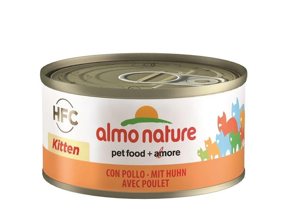 Almo Nature Kitten Huhn Katzenfutter