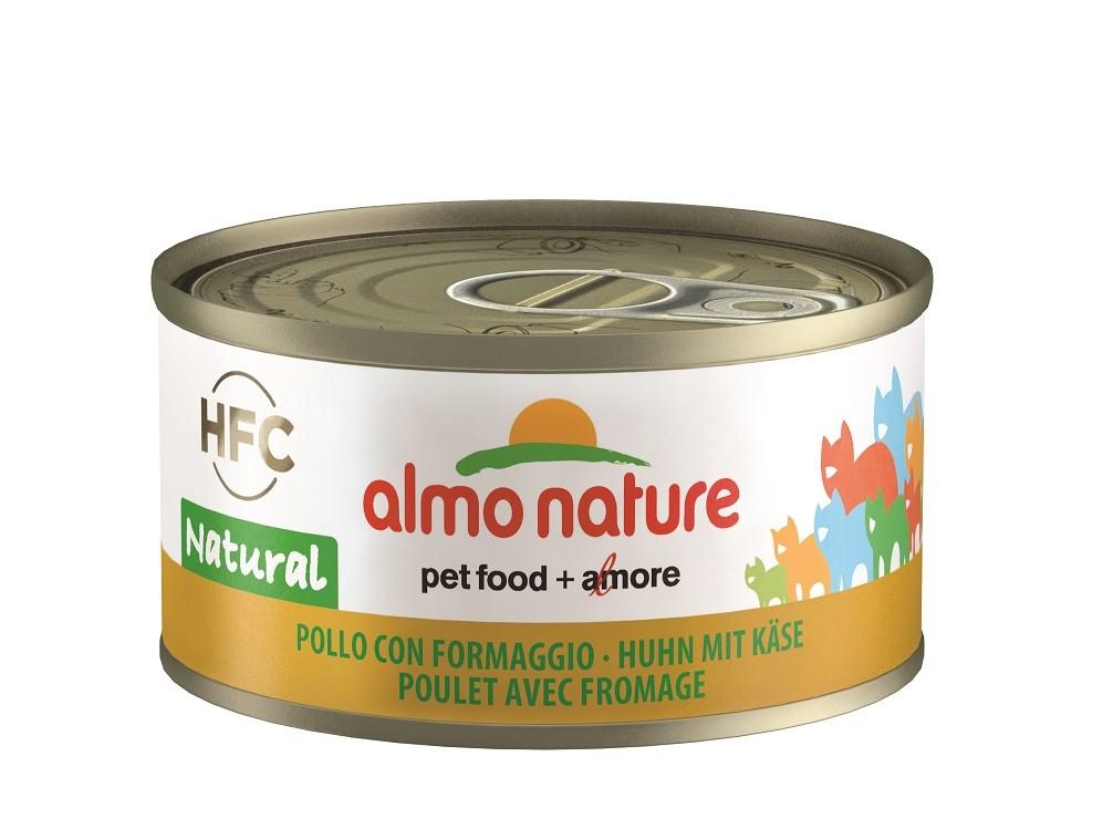 Almo Nature HFC Natural Huhn und Käse Katzenfutter