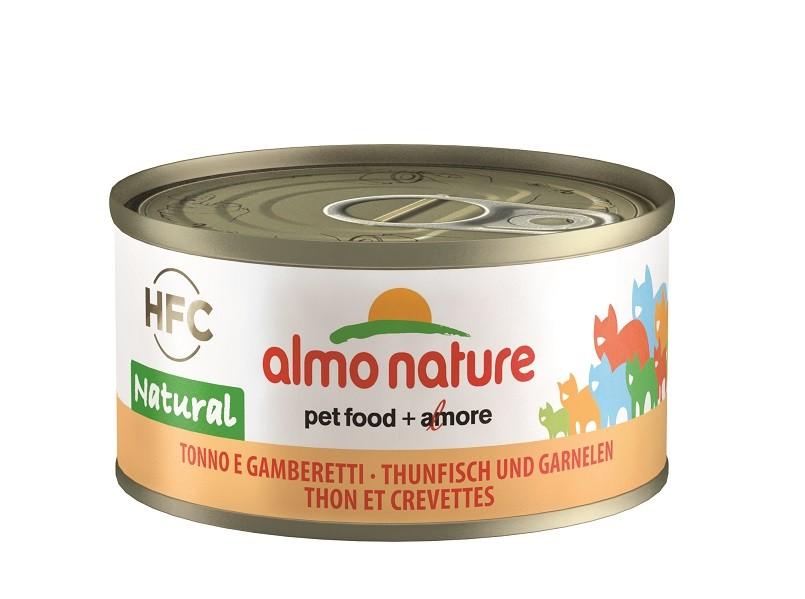 Almo Nature Thunfisch und Garnelen