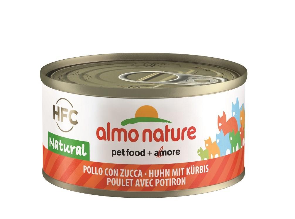 Almo Nature Huhn mit Kürbis Katzenfutter nr. 9034H