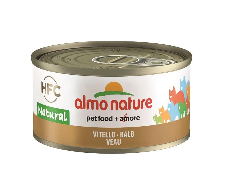 Almo Nature mit Kalb Katzenfutter