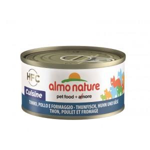 Almo Nature mit Thunfisch, Huhn und Käse Katzenfutter