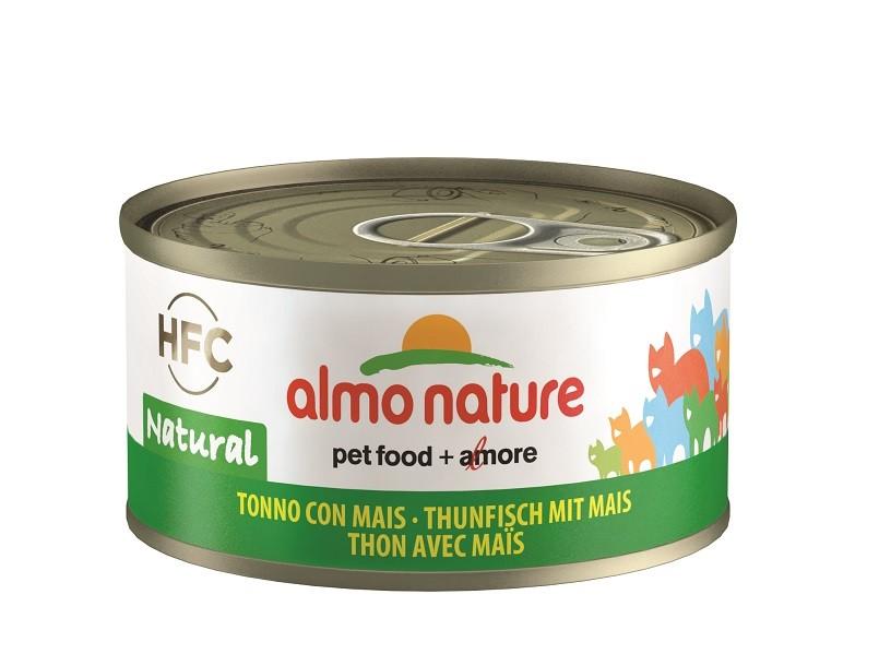 Almo Nature Thunfisch mit Mais Katzenfutter
