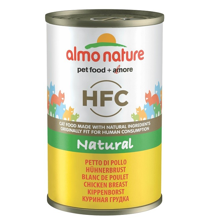 Almo Nature HFC Hühnerbrust 140 Gramm Katzenfutter