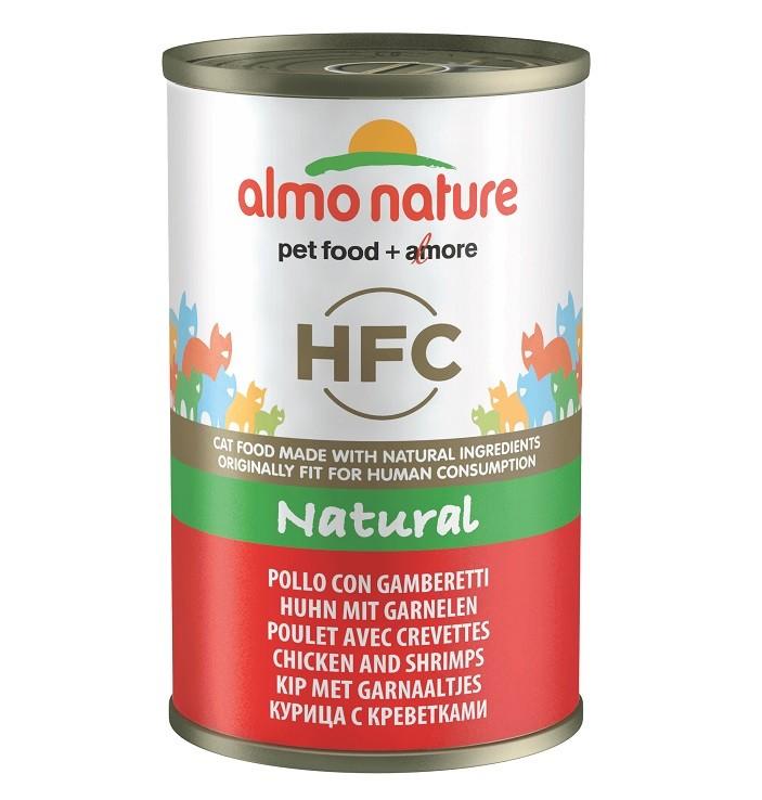 Almo Nature HFC Huhn und Garnelen Katzenfuttter