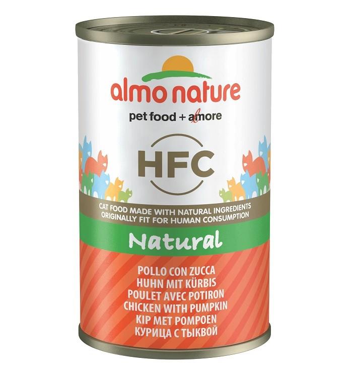 Almo Nature HFC Huhn mit Kürbis 140 Gramm Katzenfutter