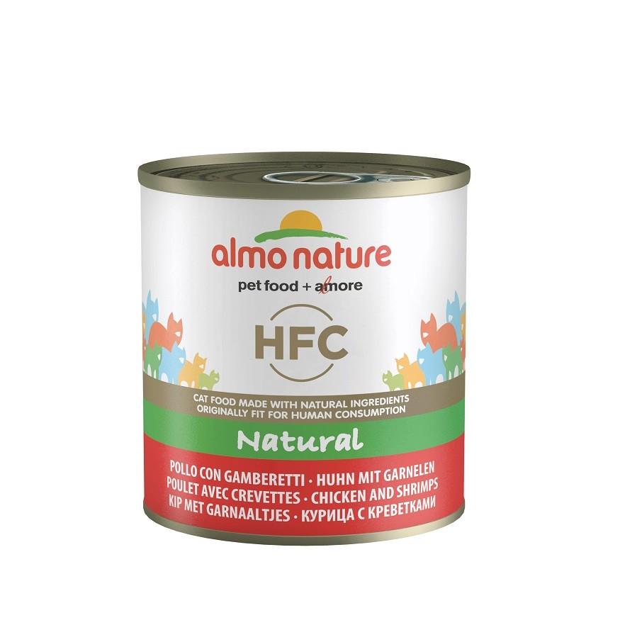 Almo Nature HFC Natural Huhn & Garnelen 280 Gramm