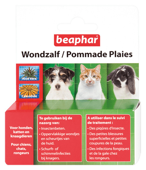 Beaphar Wundsalbe für Hund, Katze und Nagetier