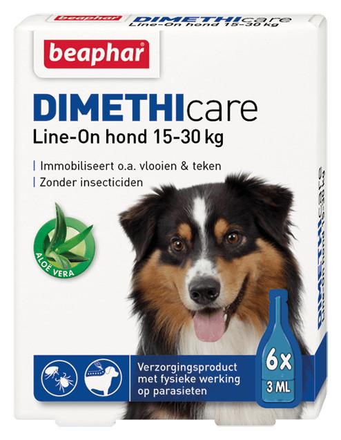 Beaphar Dimethicare Line-On (15 bis 30 kg) Hund