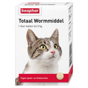 Beaphar Entwurmungsmittel Gesamt Katze