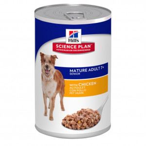 Hill's Mature  7+ Active Longevity Huhn (in Dosen) Hundefutter