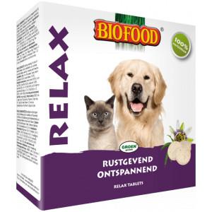 Biofood Relax Tabletten für Hund und Katze