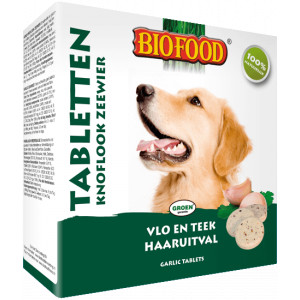 Biofood Knoblauchtabletten - Algen