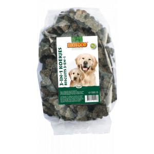 Biofood 3-in-1-kekse für den Hund
