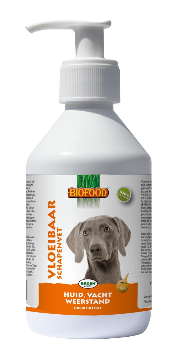 Biofood Schaffett flüssig für den Hund
