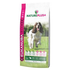 Eukanuba NaturePlus+ Adult Medium Breed Lamm Hundefutter