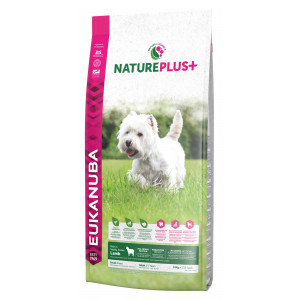 Eukanuba NaturePlus+ Adult Small Breed Lamm Hundefutter