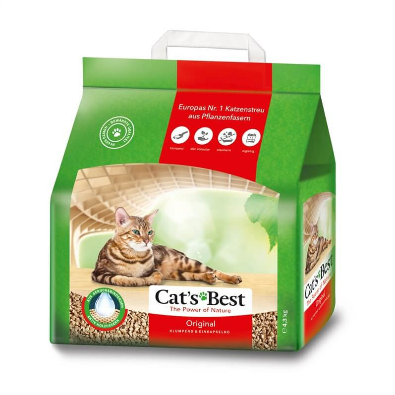 Cats Best Öko Plus Katzenstreu 4,3 kg