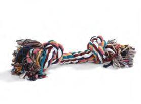 Flosstouw gekleurd 20 cm 2-knoops 0640929