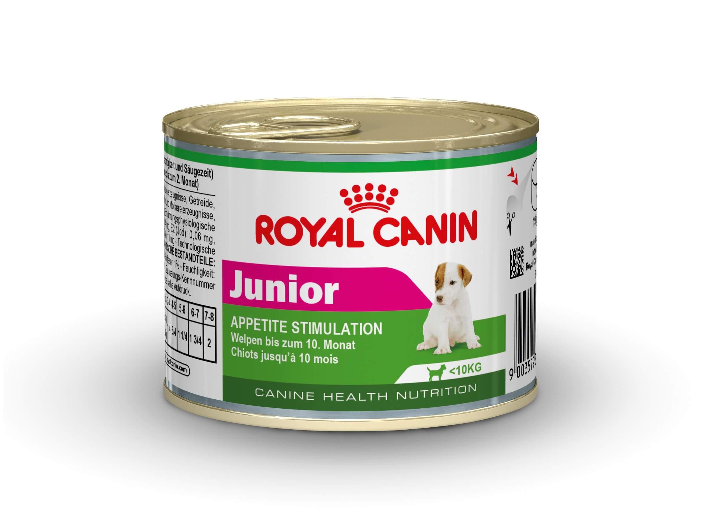 Royal Canin Mini Junior Wet 195 gr blik hondenvoer