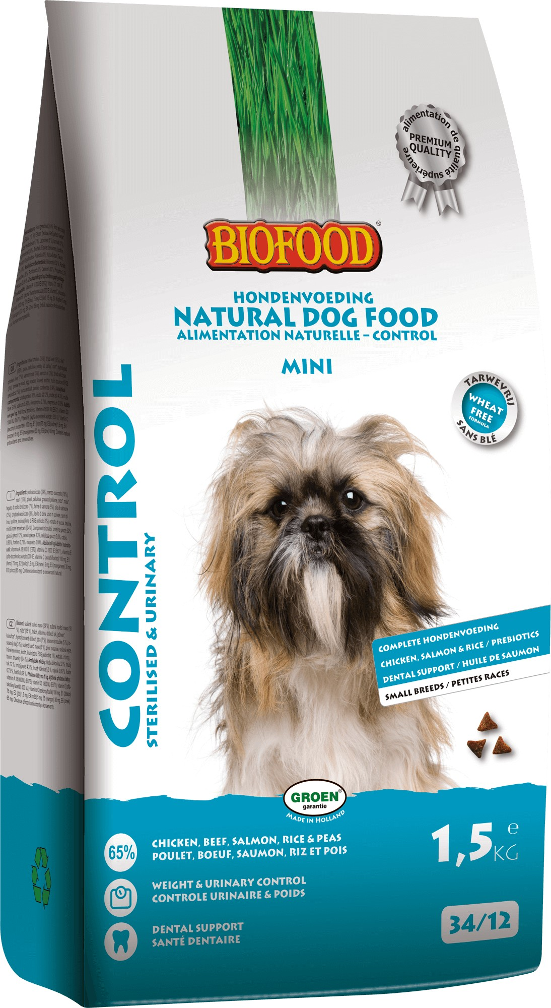 Biofood Control Small Breed hondenvoer