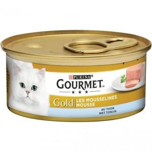 Gourmet Gold Mousse Thunfisch Katzenfutter