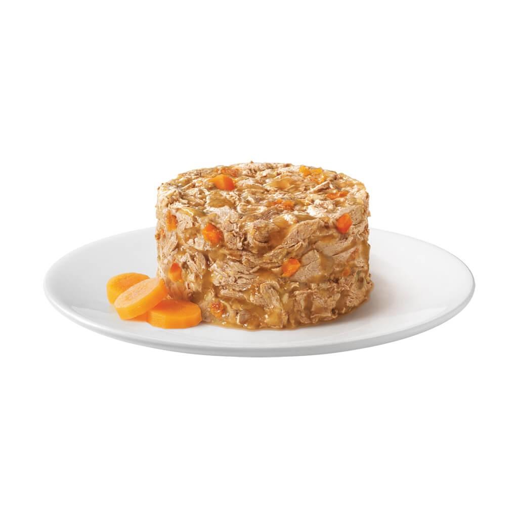 Gourmet Gold herzhaftes Türmchen mit Huhn und Karotten
