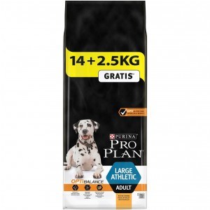 Pro Plan Adult Large Athletic mit Huhn Optibalance Hundefutter