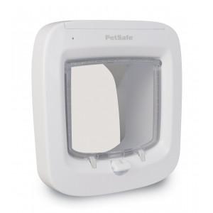 Staywell Pet Porte Microchip Kattenluik wit