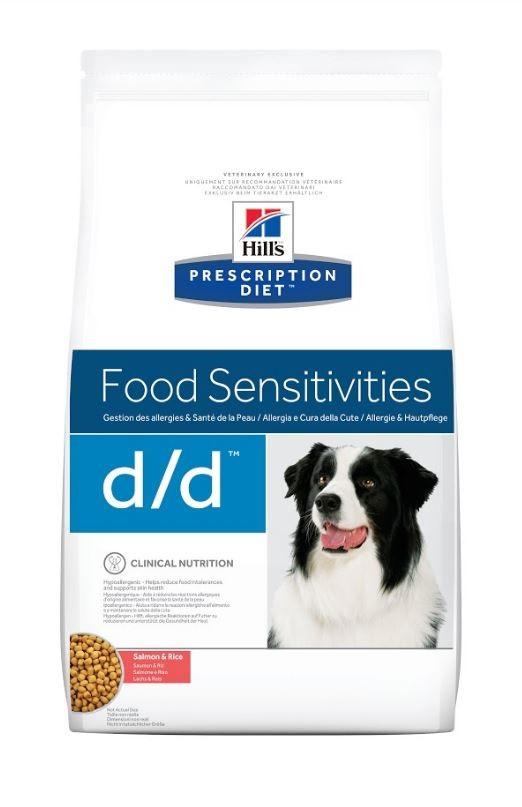 Hill's Prescription D/D Food Sensitivities Lachs & Reis Hundefutter