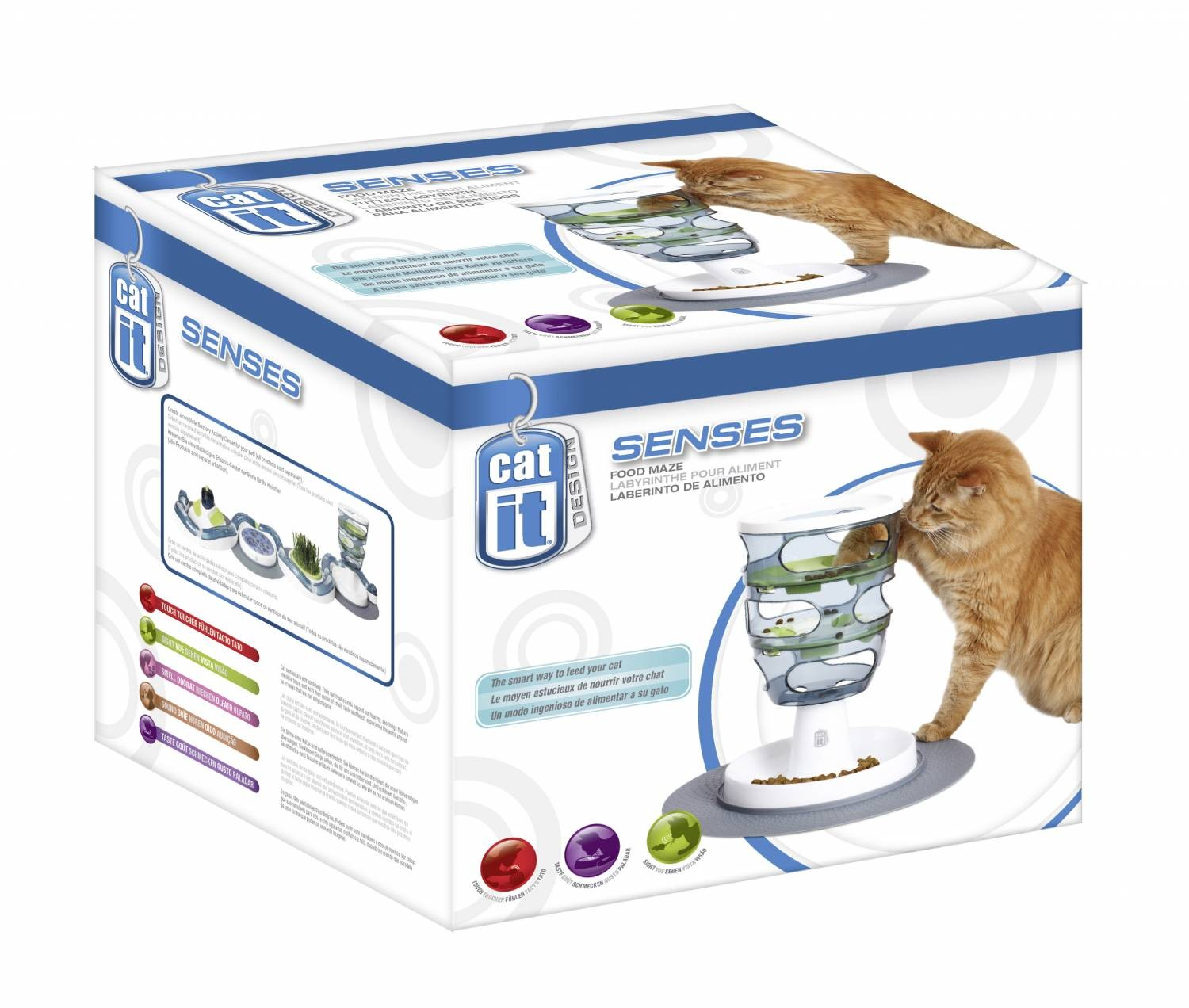 Cat it Senses Food Maze voor de kat