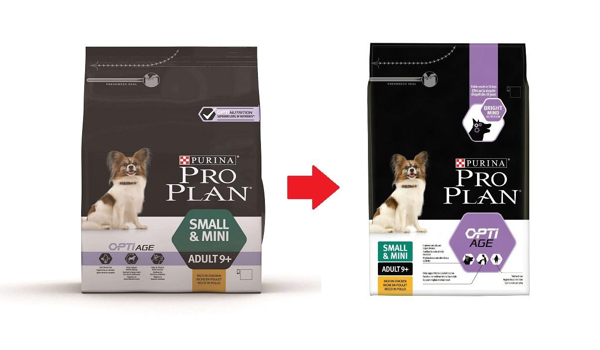 Pro Plan Small & Mini Adult 9+ Hundefutter