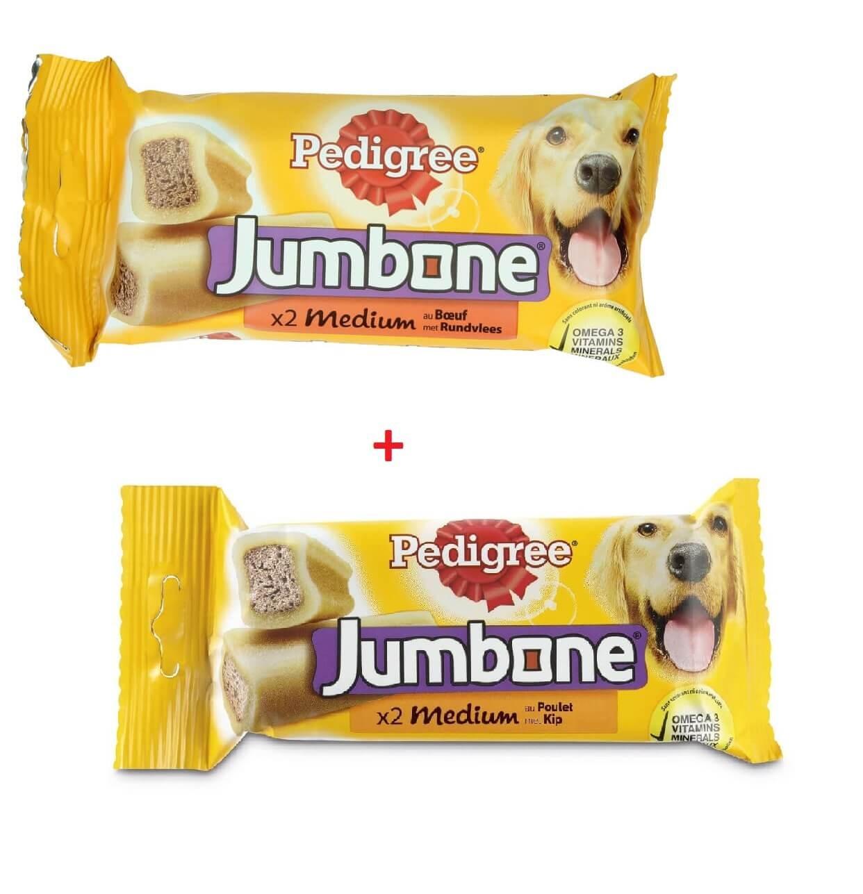 Pedigree Jumbone Medium Voordeelpakket