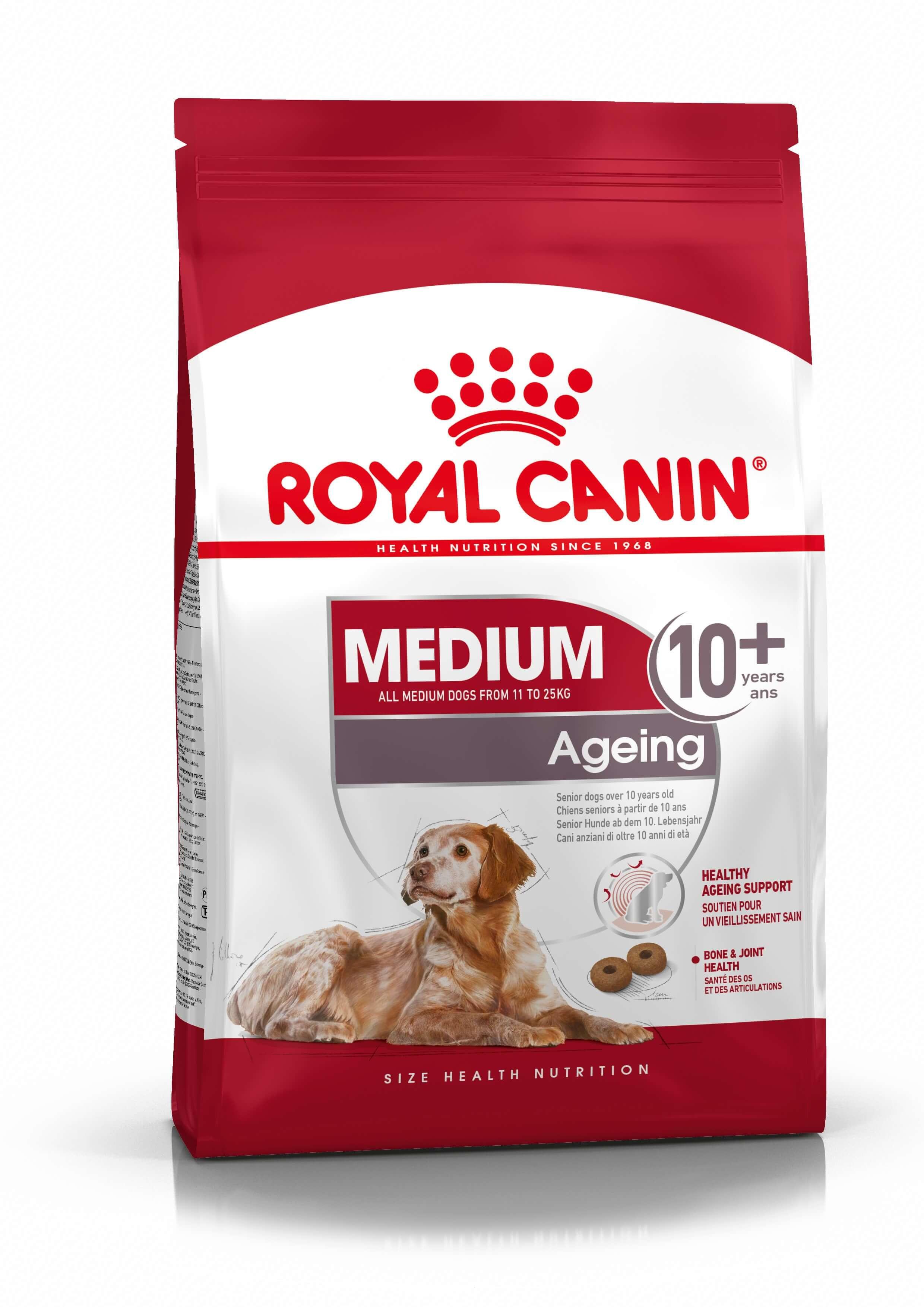 Royal Canin Medium Ageing 10+ Hundefutter