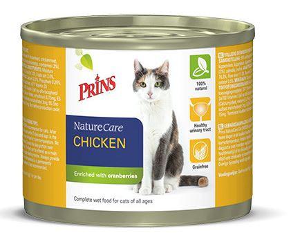 Prins NatureCare Kip kattenvoer