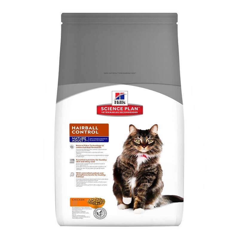 Hill's Mature Adult Hairball Control Katzenfutter