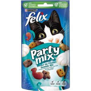 Felix Knabber Mix Strandspaß Katzensnack
