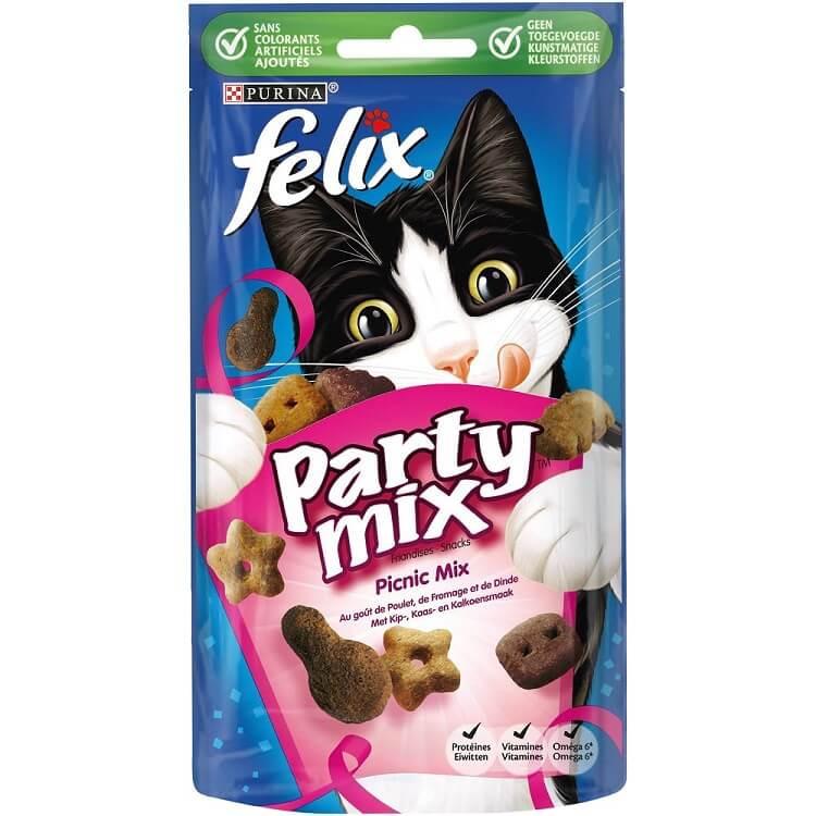 Felix Knabber Mix Picnic Katzensnack