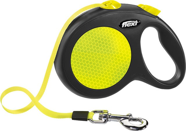Flexi New Neon Gurt-Leine