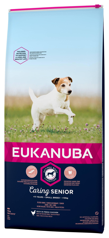 Eukanuba Caring Senior Small Breed kip hondenvoer