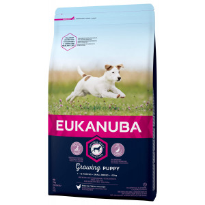 Eukanuba Growing Puppy Small Breed kip hondenvoer