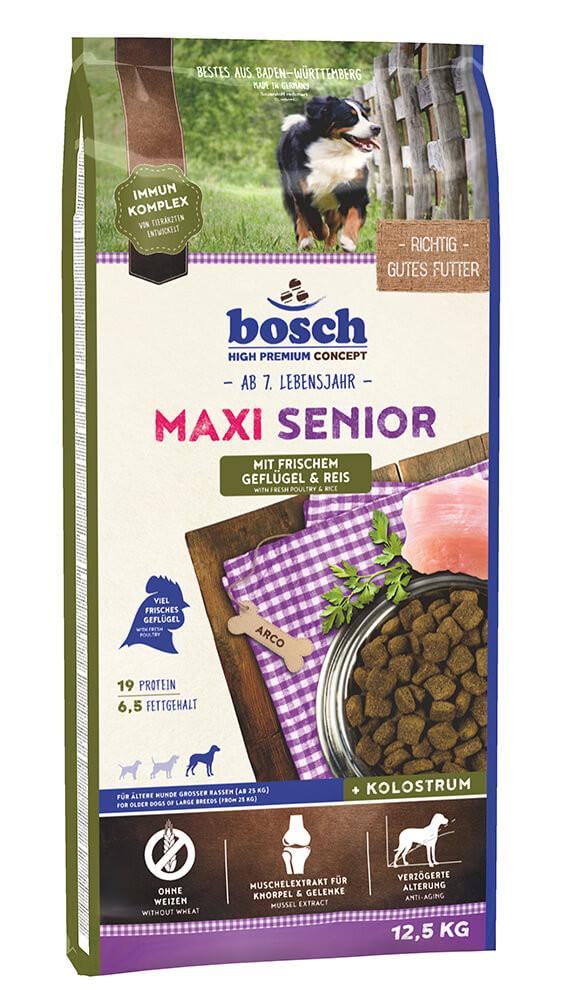 Bosch Senior Maxi Gevogelte & Rijst hondenvoer