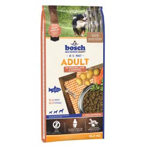 Bosch Adult Lachs & Kartoffel Hundefutter 15 + 3 kg Gratis