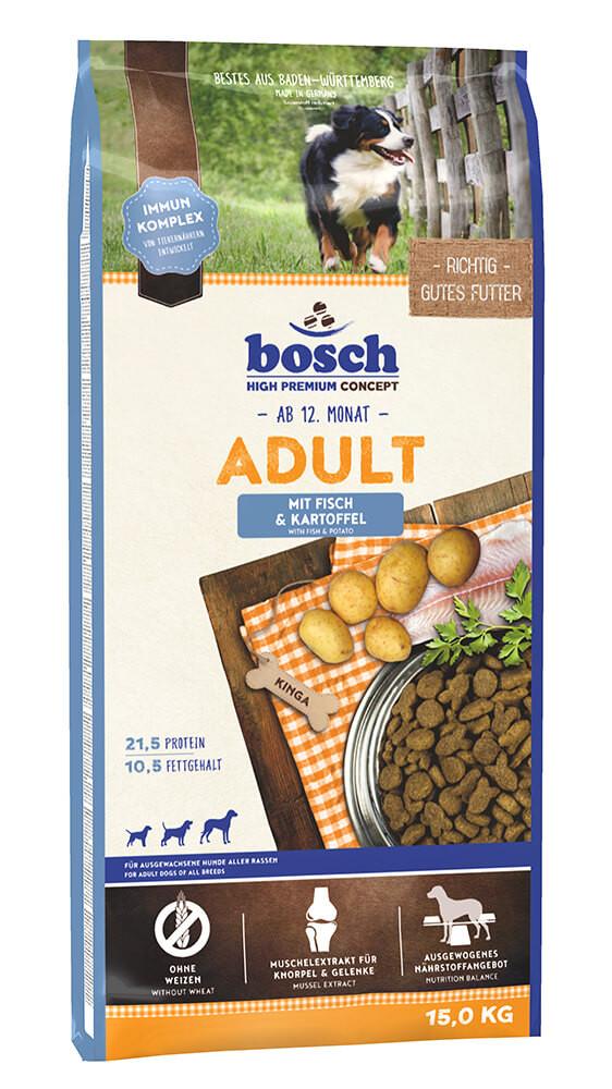 Bosch Adult Vis & Aardappel hondenvoer
