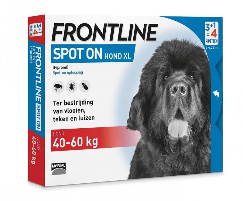 Frontline Spot On Hund 40 - 60 kg / XL